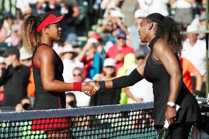 Serena Williams said she 'feels for Naomi'
