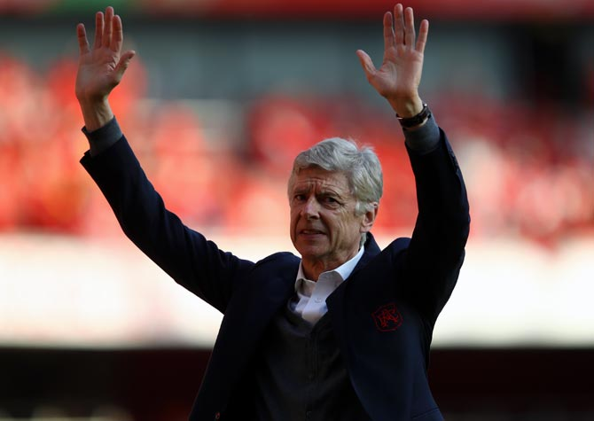 Check out Wenger's post-retirement plans