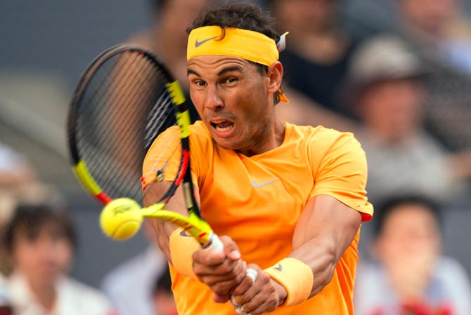 Tough draw for Nadal at French Open