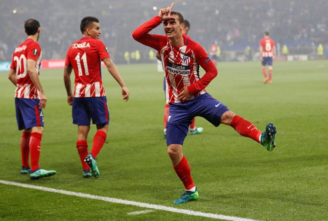 Antoine Griezmann has three goals in 12 league games, a meager tally which can be traced to the dire form of fellow striker Diego Costa.