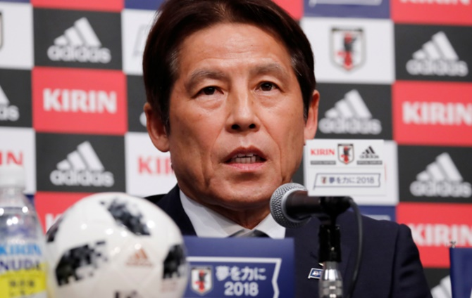 Image result for Nishino opts for experienced Japan World Cup squad