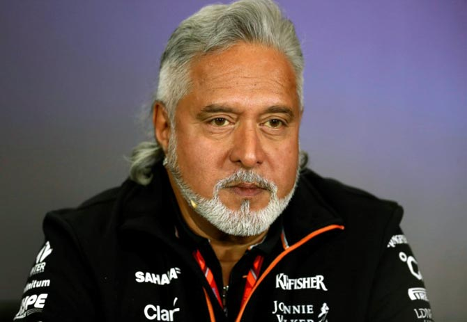 Force India's principal and co-owner Vijay Mallya is fighting an attempt by India to extradite him from Britain to face charges of fraud, which he denies