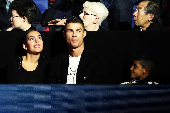 ATP Tour Finals: Djokovic tames Isner as Ronaldo watches