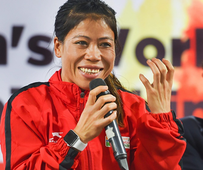 Mary Kom, Manu pledge support to fight COVID-19