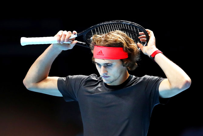 Alexander Zverev beat World No 1 Novak Djokovic to win the ATP World Tour finals last month