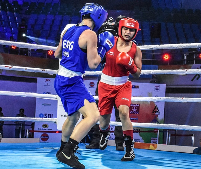 Boxing Worlds: Indian's Stupendous Run Continues, Eight In
