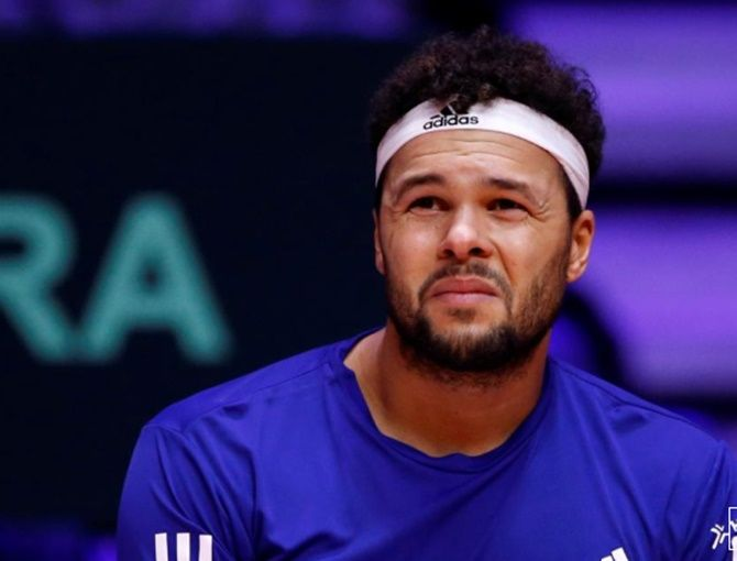 Frenchman Jo-Wilfred Tsonga has not played any tennis since he was forced to retire from the Australian Open in January due to back injury
