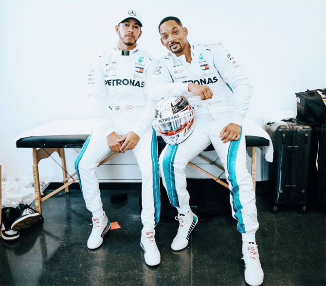 Rediff Sports - Cricket, Indian hockey, Tennis, Football, Chess, Golf - F1 PHOTOS: Hamilton ends season with a win in Abu Dhabi