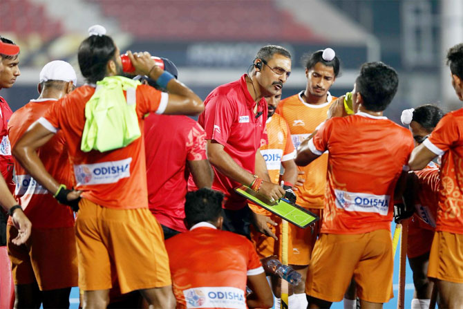 Harendra Singh had coached the Indian Junior hockey team to the World Cup crown in 2016
