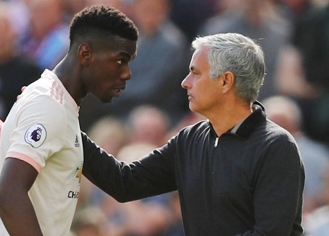 Pogba thanks ex-Manchester United boss Mourinho