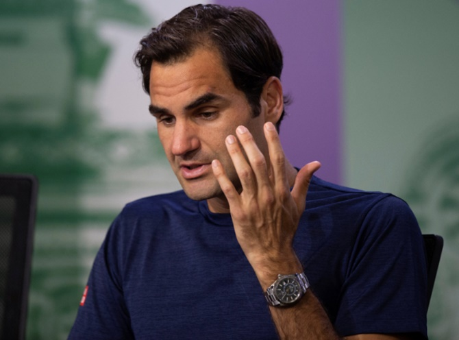 Roger Federer said he thought Justin Gimelstob's exit could pave the way for ATP chief Chris Kermode to stay in his position beyond 2019