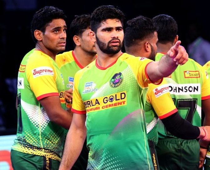 Pardeep Narwal has left many defences in awe with his amazing skills