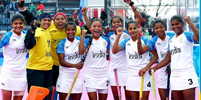 The Indian under-18 hockey team lost to hosts Argentina to settle for silver at the Youth Olympics