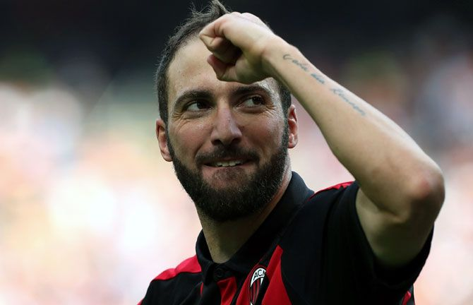Higuain joins Chelsea after his year-long loan spell with AC Milan was cut to less than six months. The deal reunites the striker with Chelsea boss Maurizio Sarri, who was manager of Napoli when Higuain was at the club