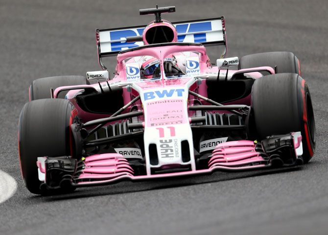 Rediff Sports - Cricket, Indian hockey, Tennis, Football, Chess, Golf - Force India name disappears from Formula One