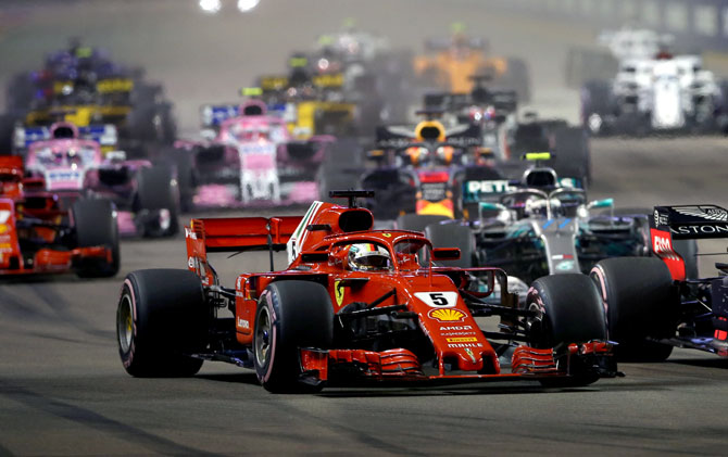 Rediff Sports - Cricket, Indian hockey, Tennis, Football, Chess, Golf - How Tata Communications is transforming F1