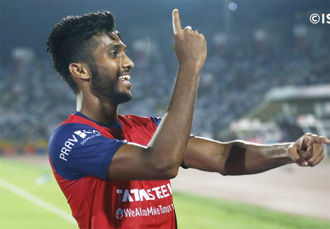 Farukh Chaudhary scored the equaliser for Jamshedpur FC