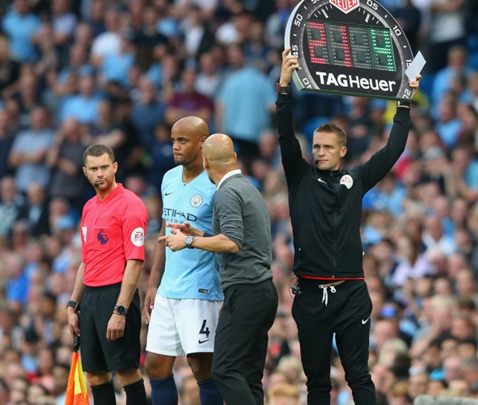 Football to allow five substitutions per team