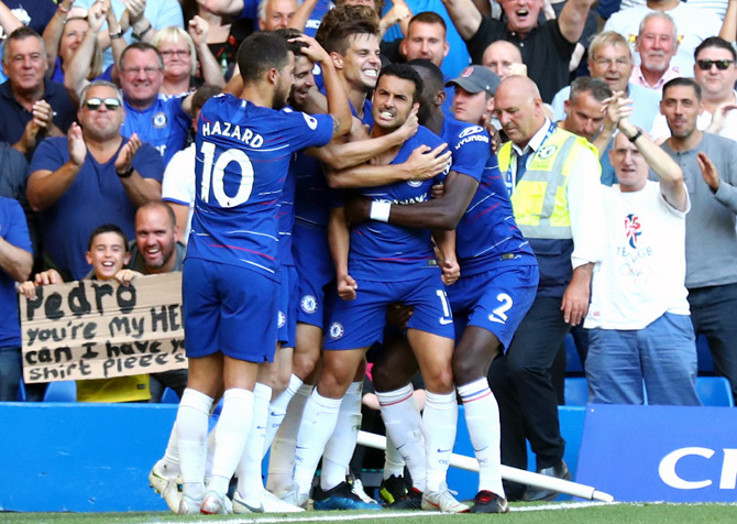 EPL PICS: Chelsea, Liverpool maintain winning run