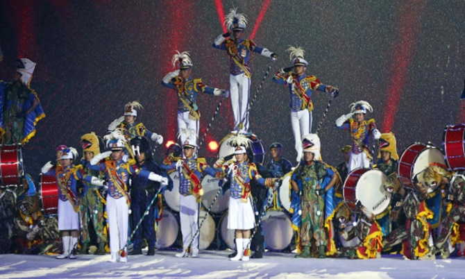 PIX: Hosts Indonesia bid emotional farewell to 18th Asiad