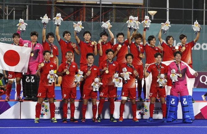 Never-say-die Japan pip Malaysia for Asiad men's hockey gold