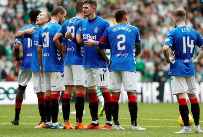 Football Briefs: Rangers beaten in Gerrard's first Old Firm derby