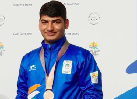 Om Prakash Mitharwal had won 2 medals at the Commonwealth Games earlier this year