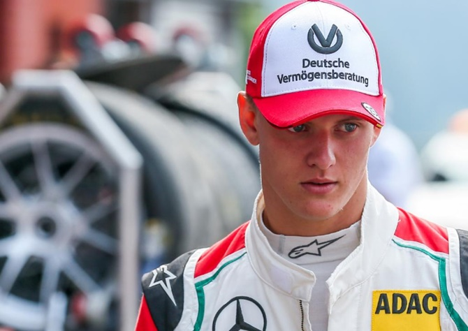 Rediff Sports - Cricket, Indian hockey, Tennis, Football, Chess, Golf - Ferrari 'door open' for Schumacher's son Mick