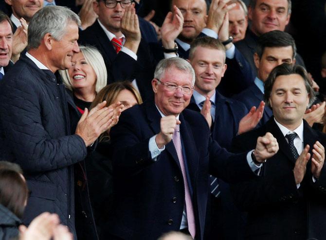 PHOTOS: Ferguson returns to Old Trafford post brain surgery