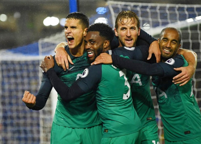 EPL: Kane scores as Tottenham return to winning ways