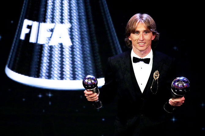 PHOTOS: Luka is FIFA's Player of the Year!