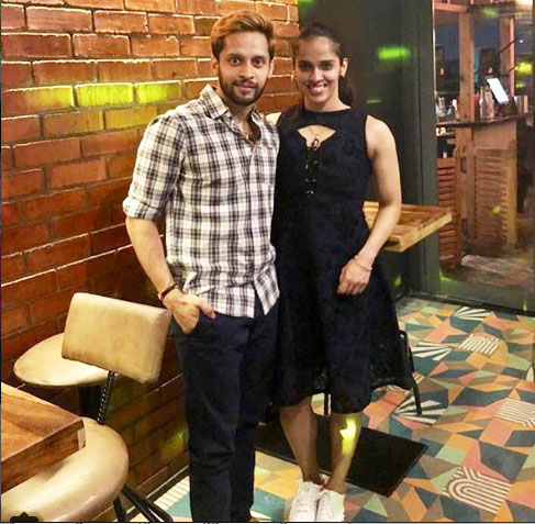 P Kashyap and Saina Nehwal