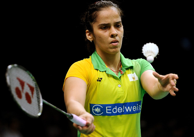 Rediff Sports - Cricket, Indian hockey, Tennis, Football, Chess, Golf - Sports Shorts: Saina sails into Korea Open quarters