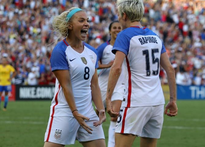 FIFA Rankings: US women stay top, England climb to third