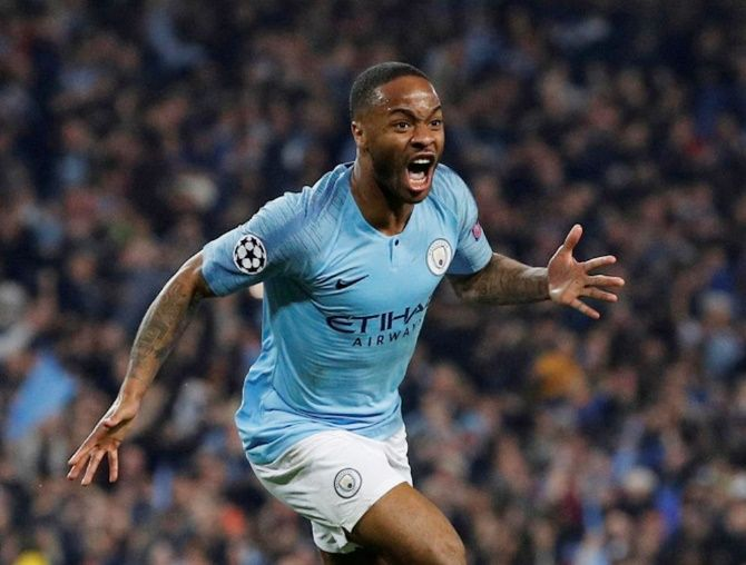 Raheem Sterling, who returns from a one-match ban, had scored a goal and created three more chances during England and Kosovo's earlier clash at St Mary's Stadium