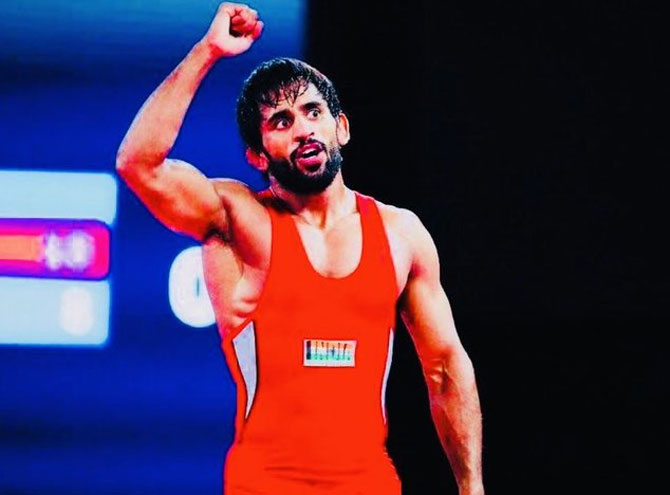 World No 2 Bajrang assured of seeding at Olympics