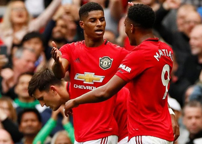 Marcus Rashford has previously been criticised for a perceived lack of composure in front of goal but he is flourishing under Solskjaer, who scored 126 goals in 366 appearances as a player for United