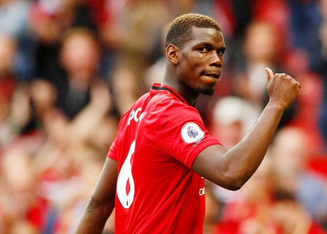 United's Pogba, De Gea ruled out Liverpool clash