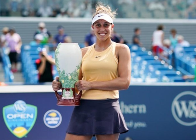 Cincinnati: Keys claims title; Medvedev beats Goffin