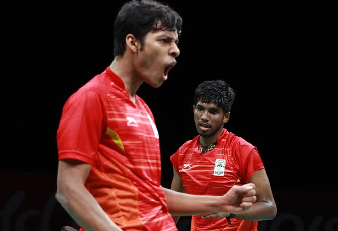 I didn't start playing badminton to earn money: Chirag