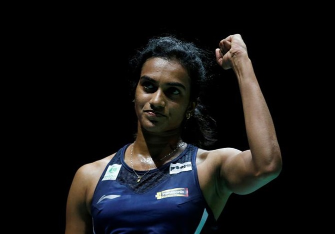 Sindhu in 3rd straight World C'ships final; Praneeth loses