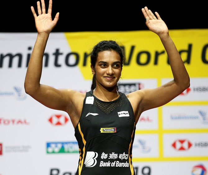 No handshakes, only 'namastes' for Sindhu due to virus