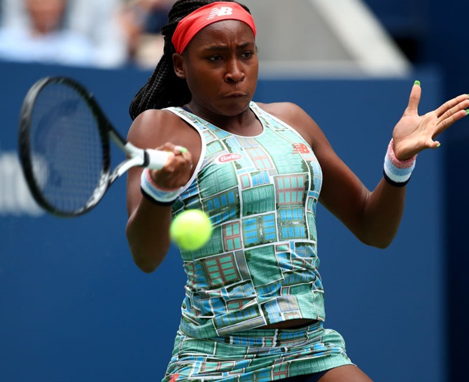 'It's crazy': Gauff wins first WTA title at age 15