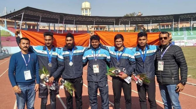 India tally 100 gold medals at South Asian Games