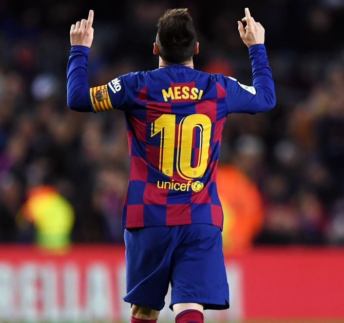 Lionel Messi's decision to leave the club came after Barcelona failed to win any silverware last season, which finished with a humiliating 8-2 defeat to Bayern Munich in the Champions League quarter-finals