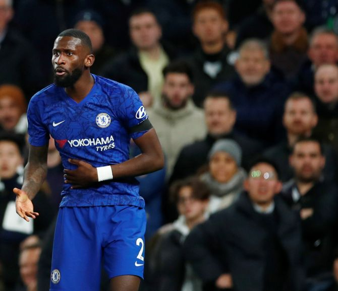 Football focus: Rudiger's racism investigation closed