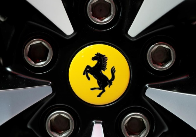 Rediff Sports - Cricket, Indian hockey, Tennis, Football, Chess, Golf - The wait is over! Ferrari unveil new F1 car for new era