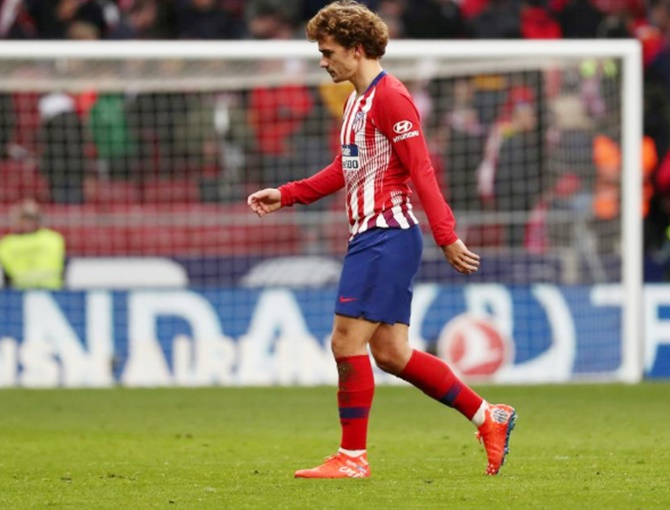 Rediff Sports - Cricket, Indian hockey, Tennis, Football, Chess, Golf - Signs of stagnation at Atletico ahead of Juve visit