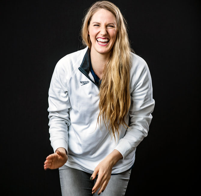 Rediff Sports - Cricket, Indian hockey, Tennis, Football, Chess, Golf - After shock retirement at 23, Missy Franklin finds peace in Hinduism