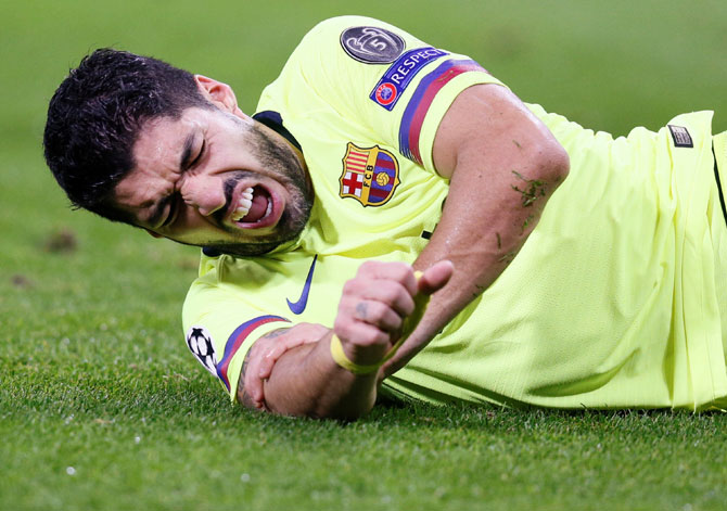 Is Barca's Suarez suffering from goalscoring curse?